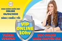 Lịch khai giảng khóa học online tháng 04 /2020 - Khóa học đánh giá và kiểm soát chất lượng chuẩn quốc tế
