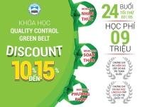 Khóa học Quality Control Green Belt  2020