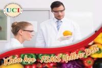 Khóa Học Chuyên Gia Kiểm Soát  An Toàn Thực Phẩm tháng 8, 2020 tại TPHCM (FSMS Yellow Belt)