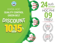 Khóa học Quality Control Green Belt  -05/2021